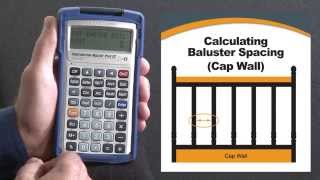 Construction Master Plus EZ Balusters (Cap Wall) How To