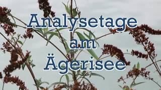 INAKARB Analysetage in Ägerisee, Schweiz  - TTD vom 28.02.2018