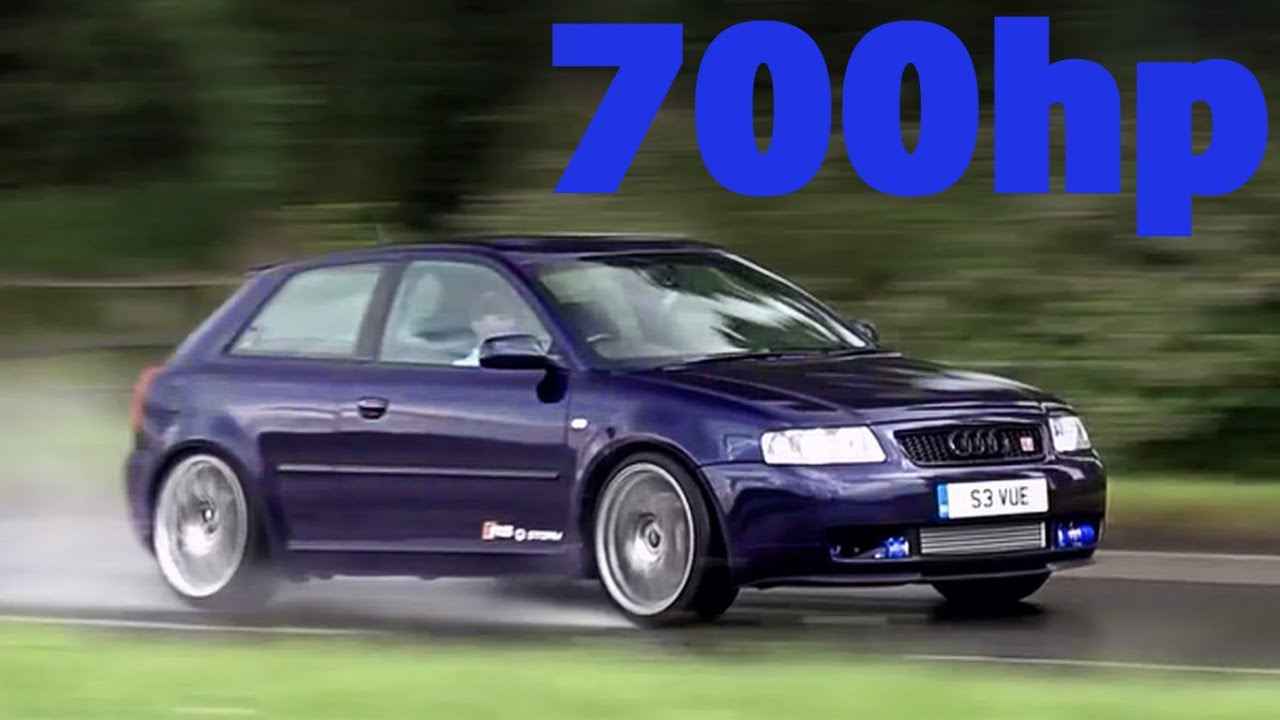 700bhp Supercharged mk1 Audi S3 - Fastest in the UK! - YouTube