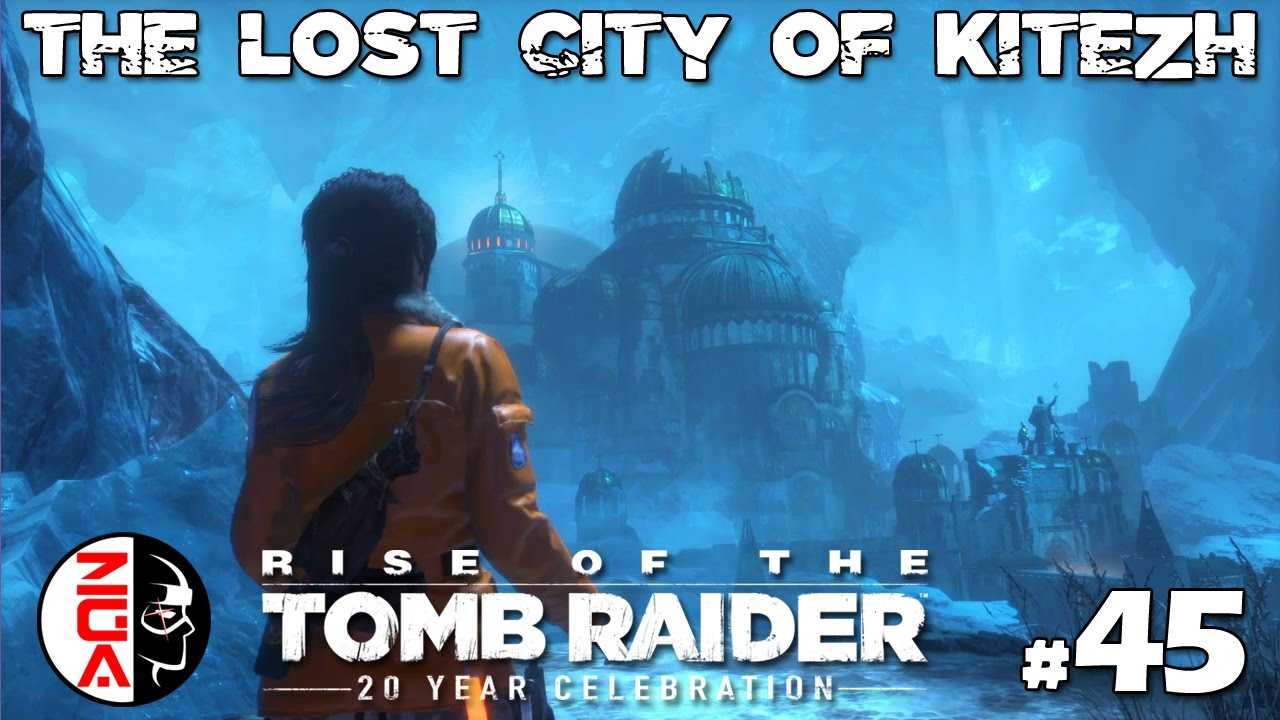 Rise Of The Tomb Raider 45 The Lost City Of Kitezh Ps4 Gameplay