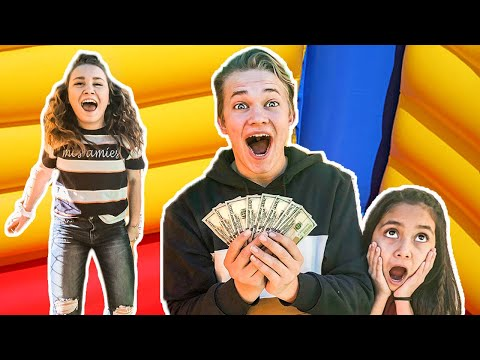 Last To Leave The BOUNCE HOUSE  Wins $1000!!
