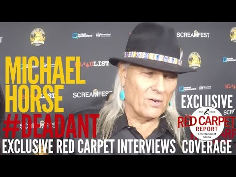 Michael Horse interviewed at DEAD ANT World Premiere at Screamfest