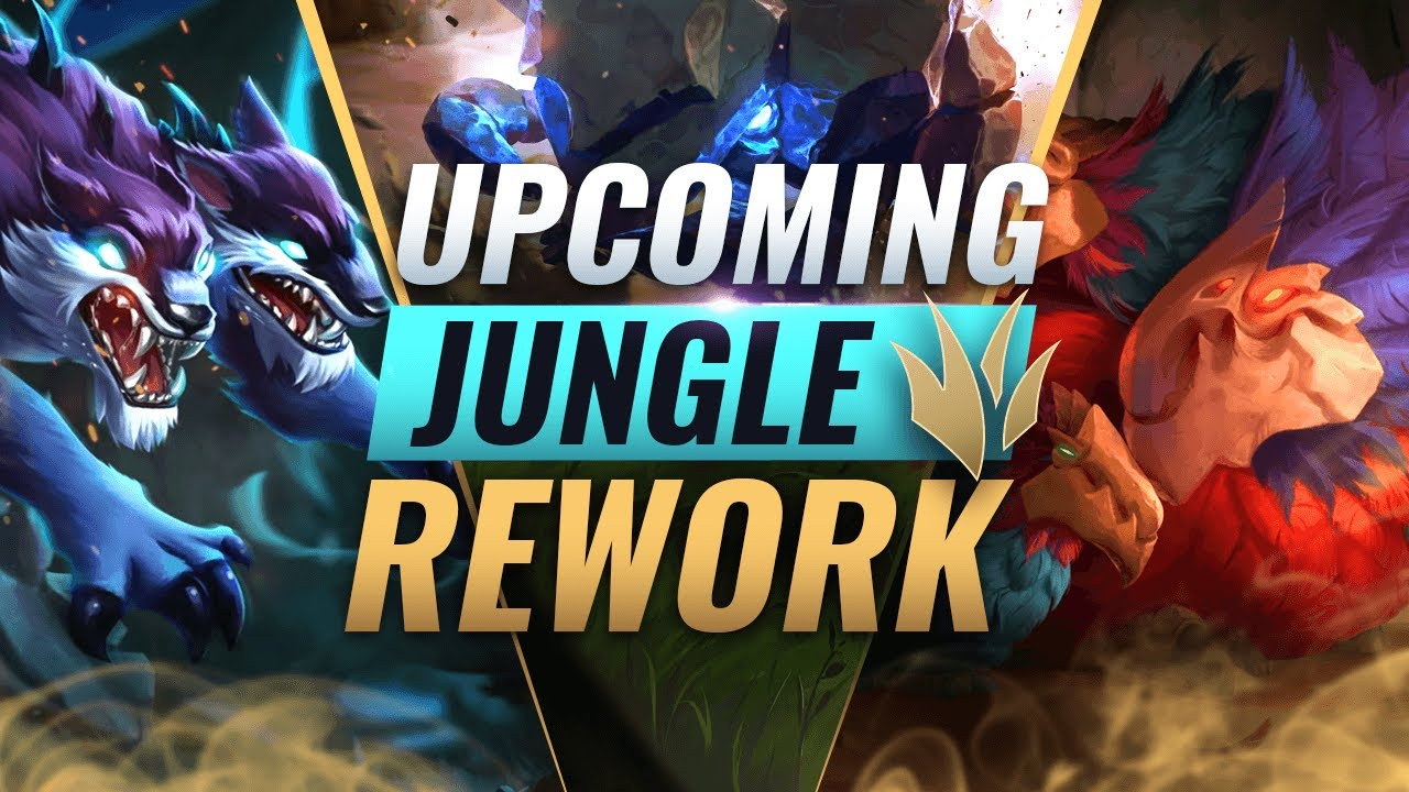 New Jungle Rework Upcoming Preseason Jungle Changes League Of Legends Season 11 Youtube