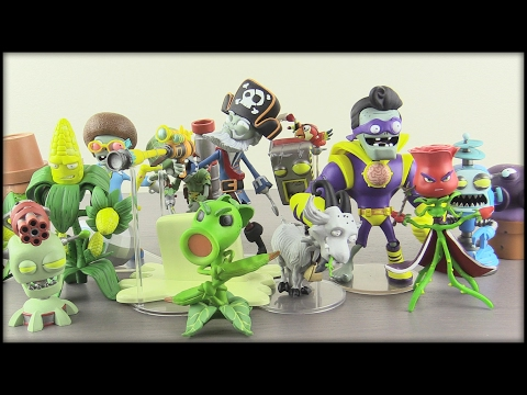 PLANTS VS. ZOMBIES GARDEN WARFARE 2! Diamond Select Figures!