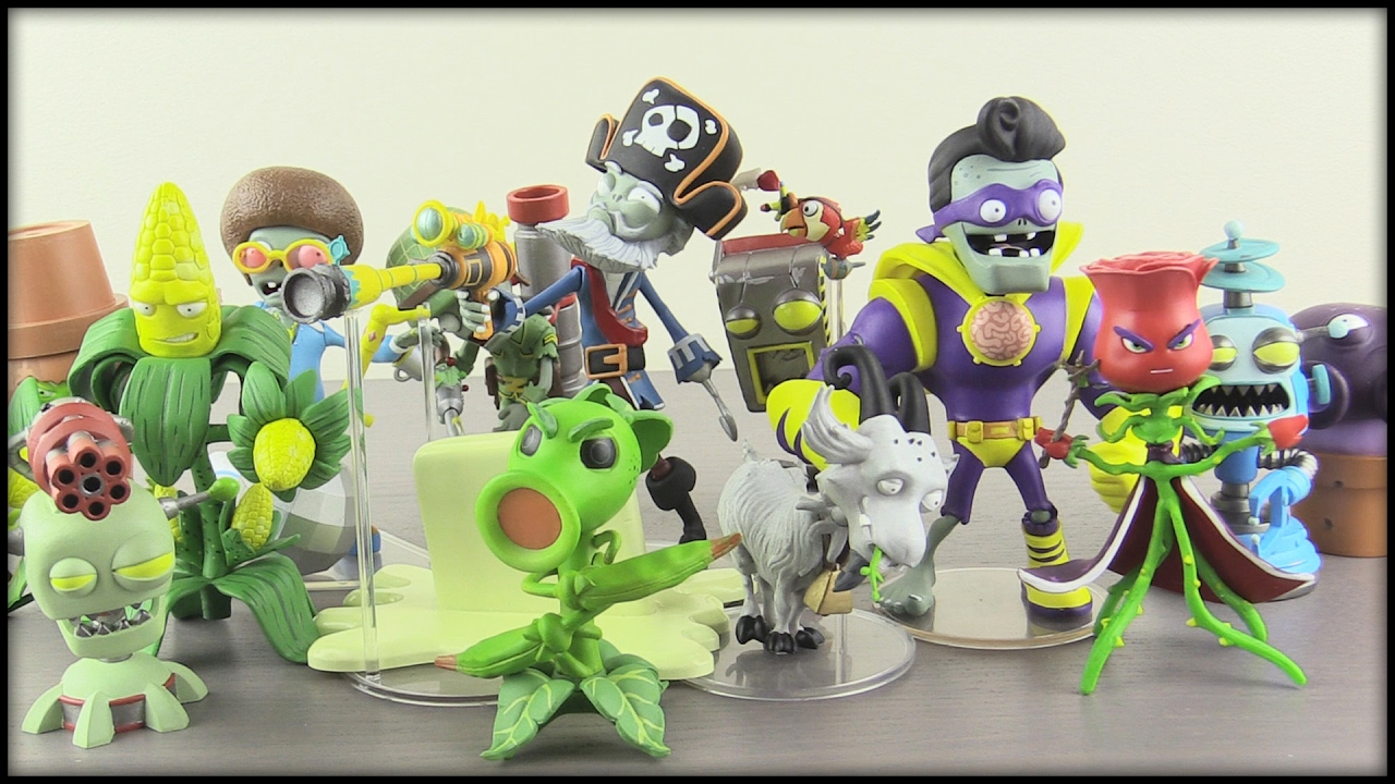 Plants Vs Zombies Garden Warfare 2 Diamond Select Figures Youtube