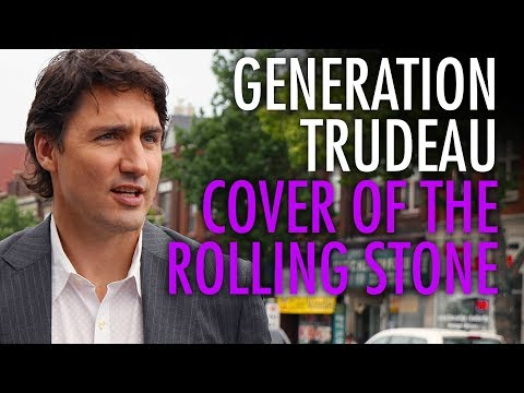 Millennials react to Justin Trudeau's Rolling Stone cover