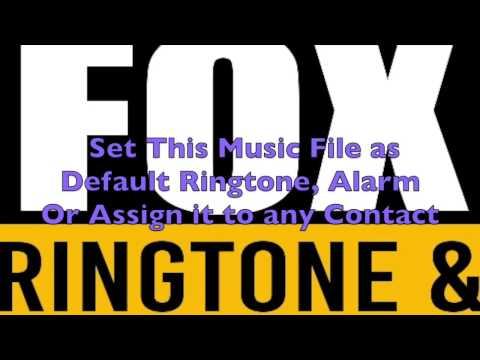 NFL On Fox Ringtone and Alert
