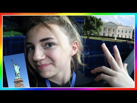 Kayla Goes To Washington DC And NY Without Parents! | Kayla Davis