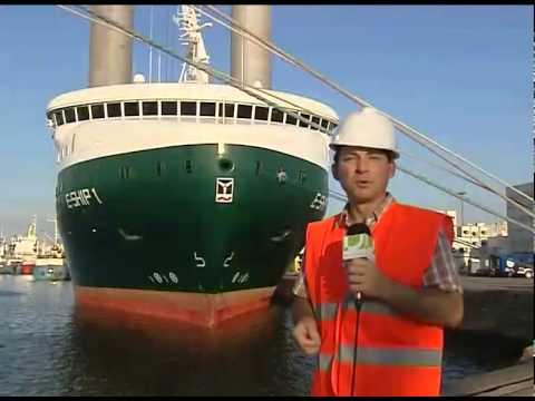 E ship 1 Enercon Barco Energia Eolica
