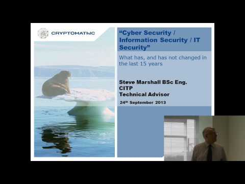 Highlights of Cambridge Cyber Security 2013