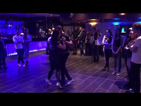 Kizomba Harmony Billy and Monica Kay Urban Saidas Demo Paris, France