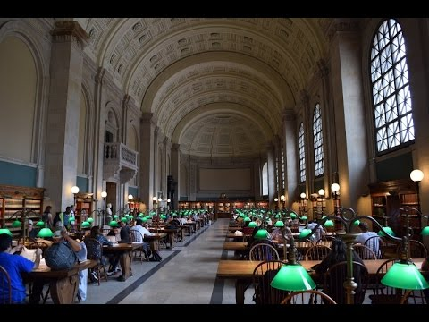 Boston Public Library Tour