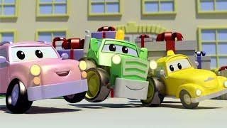 малыши в Автомобильном Городе - Сюрприз на День Рождения - детский мультфильм
