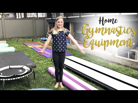 Home Gymnastics Equipment | Carissa SGG