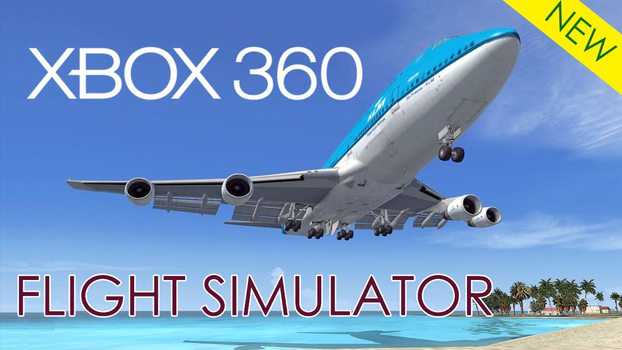 Flight simulator - Xbox 360 - Gameplay 2015