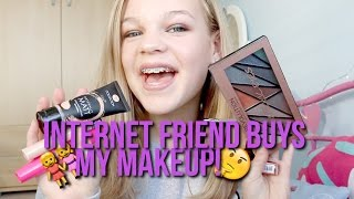 One of lush leah's most viewed videos: Internet Friend Buys My Full Face Of Makeup For £15~lush leah