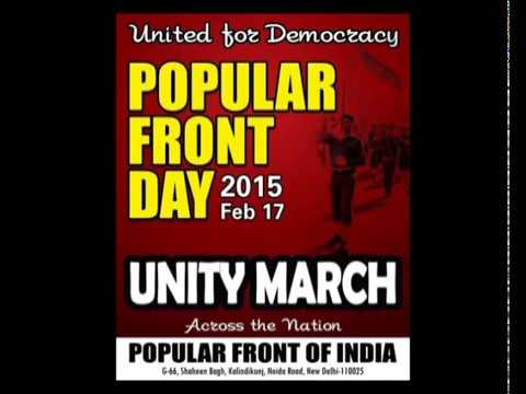 Popular Front Day Promo part 1