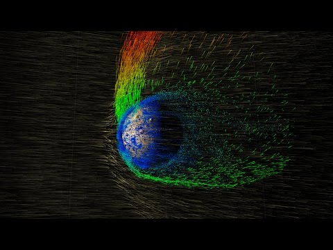 NASA | Solar Wind Strips Martian Atmosphere