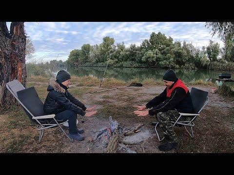 Рыбалка с ночёвкой в октябре. Часть 2