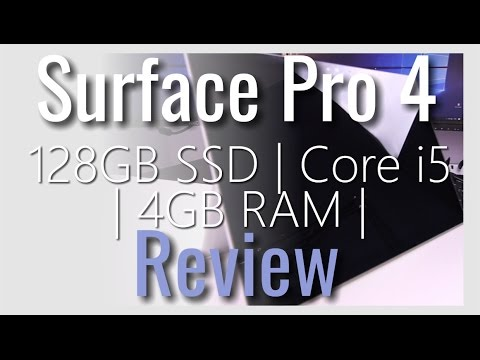 Surface Pro 4 | 128GB SSD | Core i5 | 4GB RAM