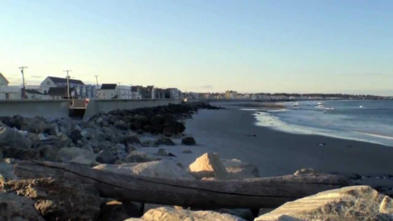 North Beach Hampton Nh At Sunset