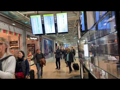 Traveling To Rome; Fiumicino Airport, Internal Flights Terminal, Gates B, Walking Tour