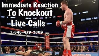 Saul Canelo Alvarez vs Amir Khan Immediate Reactions to KO thumbnail