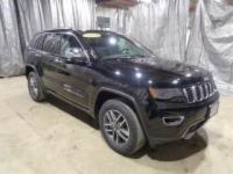 2020 Brilliant Black Metallic Jeep Grand Cherokee Limited AJT6071 Motor Inn Auto Group
