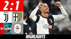 CR7 weiter in Hochform! | Juventus Turin - AC Parma 2:1 | Highlights | Serie A
