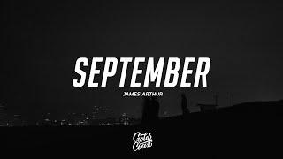 James Arthur - September (Lyrics)