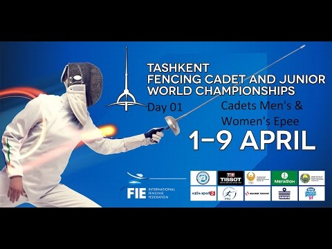 Cadets Fencing World Championships 2015 day01 - daily session