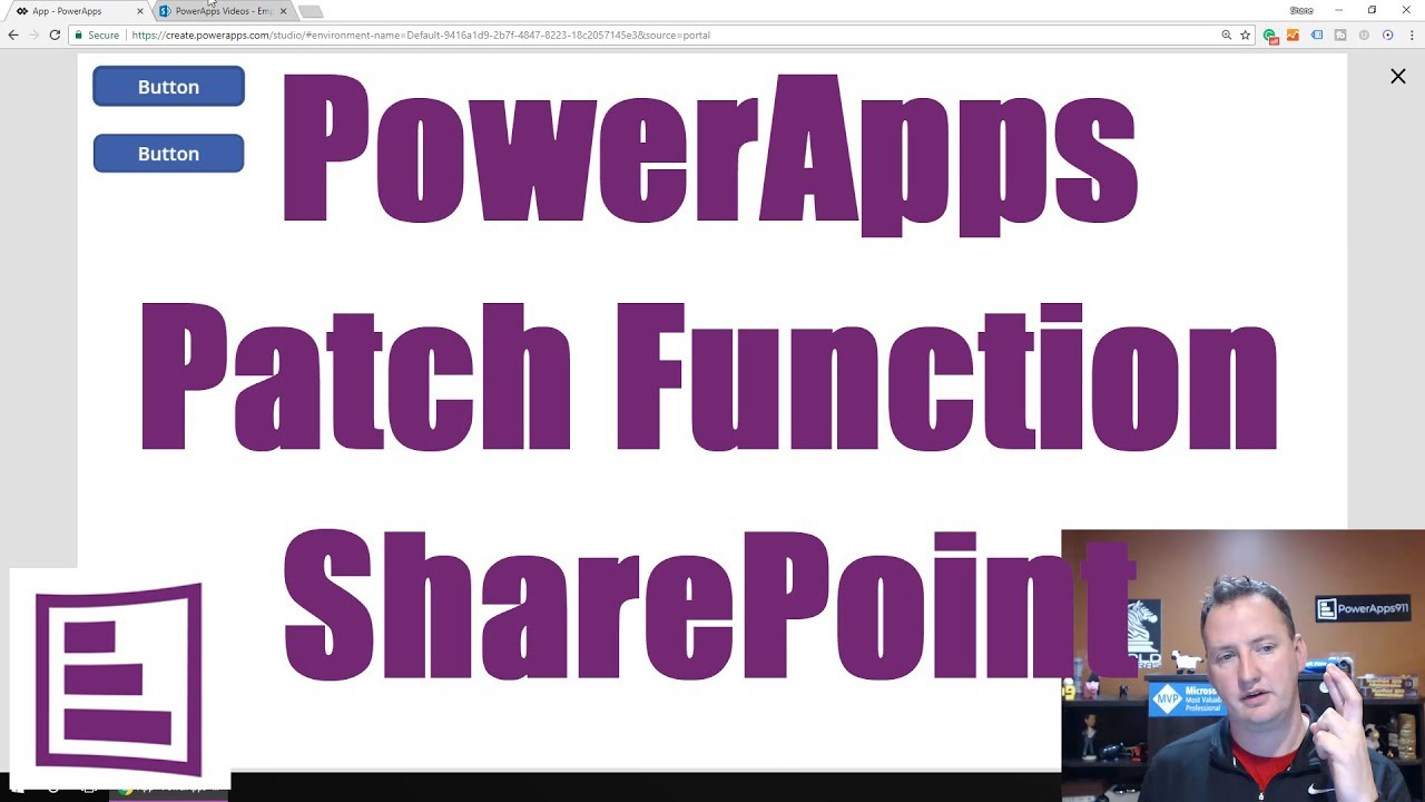 Use the Power Apps Patch Function with a SharePoint List