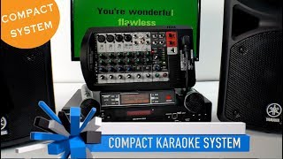 Karaoke System | Compact DJ System | Karaoke Player | Yamaha Speakers | Lightyearmusic 800-557-7464✅