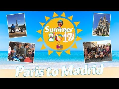 Summer2017: Paris to Madrid