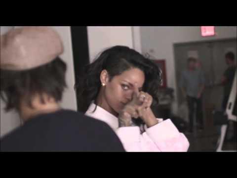 Rihanna - Balmain Spring/Summer 2014 Behind The Scenes