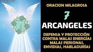 Oración a los 7 Arcángeles para pedir su defensa y protecc...
