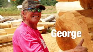 Log Homes Canada   Meet the Crew!