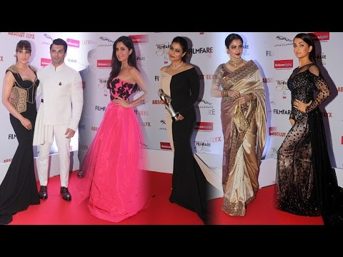Aishwarya, Katrina, Bipasha, Kajol rock at Filmfare awards; Watch Video | Filmibeat