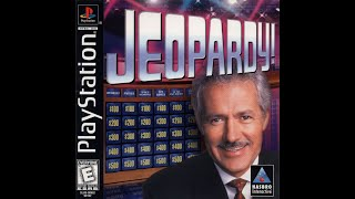 Playstation Jeopardy! ORIGINAL RUN Game #3