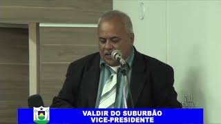 Valdir do Suburbão pronunciamento 08 11 2018