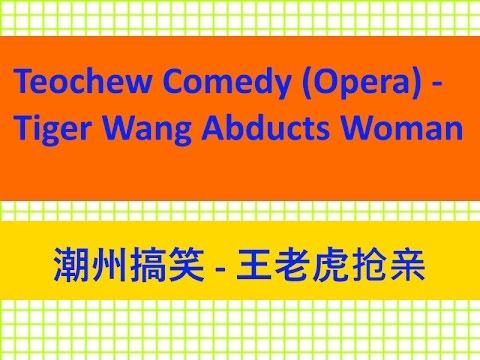 Teochew Comedy 28 - Opera : Tiger Wang Abducts Woman (  潮州搞笑  -  王老虎抢亲)