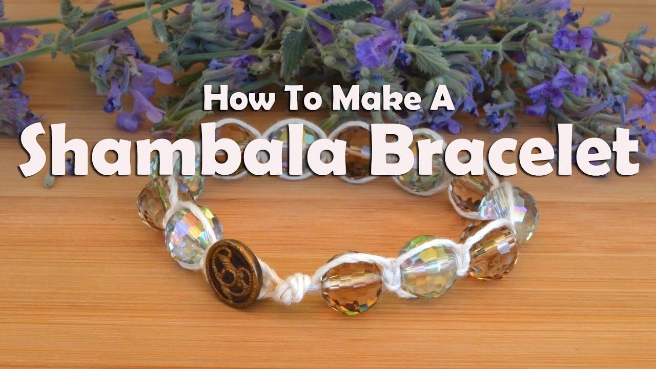 How to weave a shamballa bracelet
