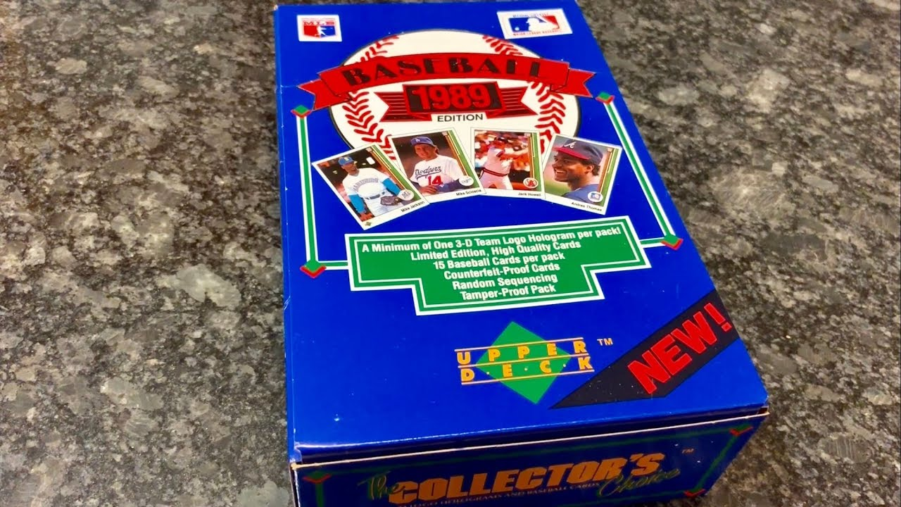 1989 Upper Deck Ken Griffey Jr Rookie Card Hunt In Low Series Box Throwback Thursday