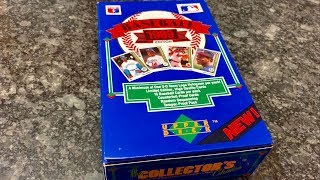 1989 UPPER DECK KEN GRIFFEY JR ROOKIE CARD HUNT IN LOW SERIES BOX!  (Throwback Thursday)