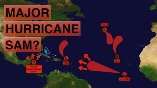 Will Invest 98l Become Major Hurricane Sam And Impact The Caribbean