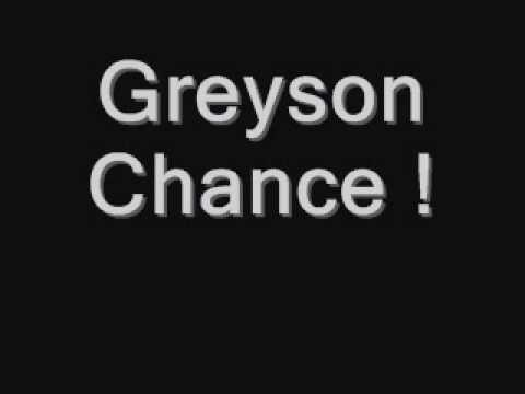 Greyson Chance singing Lady GaGa's