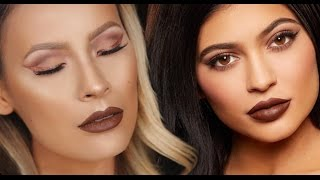 Rose Gold Wing w/ Lip Kit by Kylie Jenner | True Brown K
