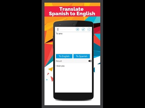 Spanish English Translator Apps On Google Play