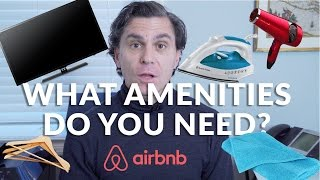 Gambar cover Airbnb Hosting Tips: What Amenities Does My Listing Need?