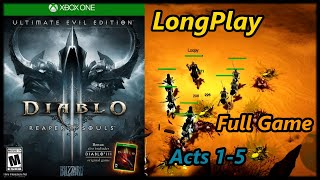 Diablo 3: Reaper of Souls - Longplay (Acts 1-5) Full Game Walkthrough (No Commentary)